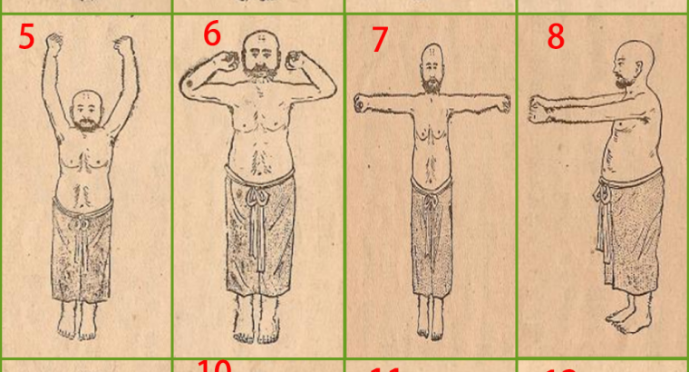 The Ultimate Fitness Guide-Chinese Dharma Yi Jin Sutra, far better than Yoga