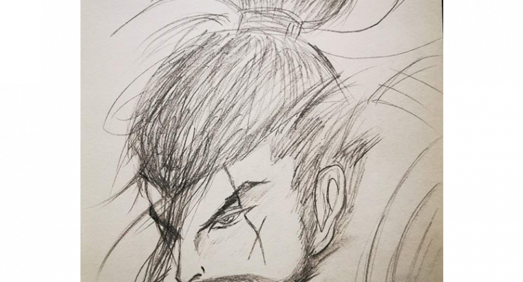 King of Glory | Game characters | sketch